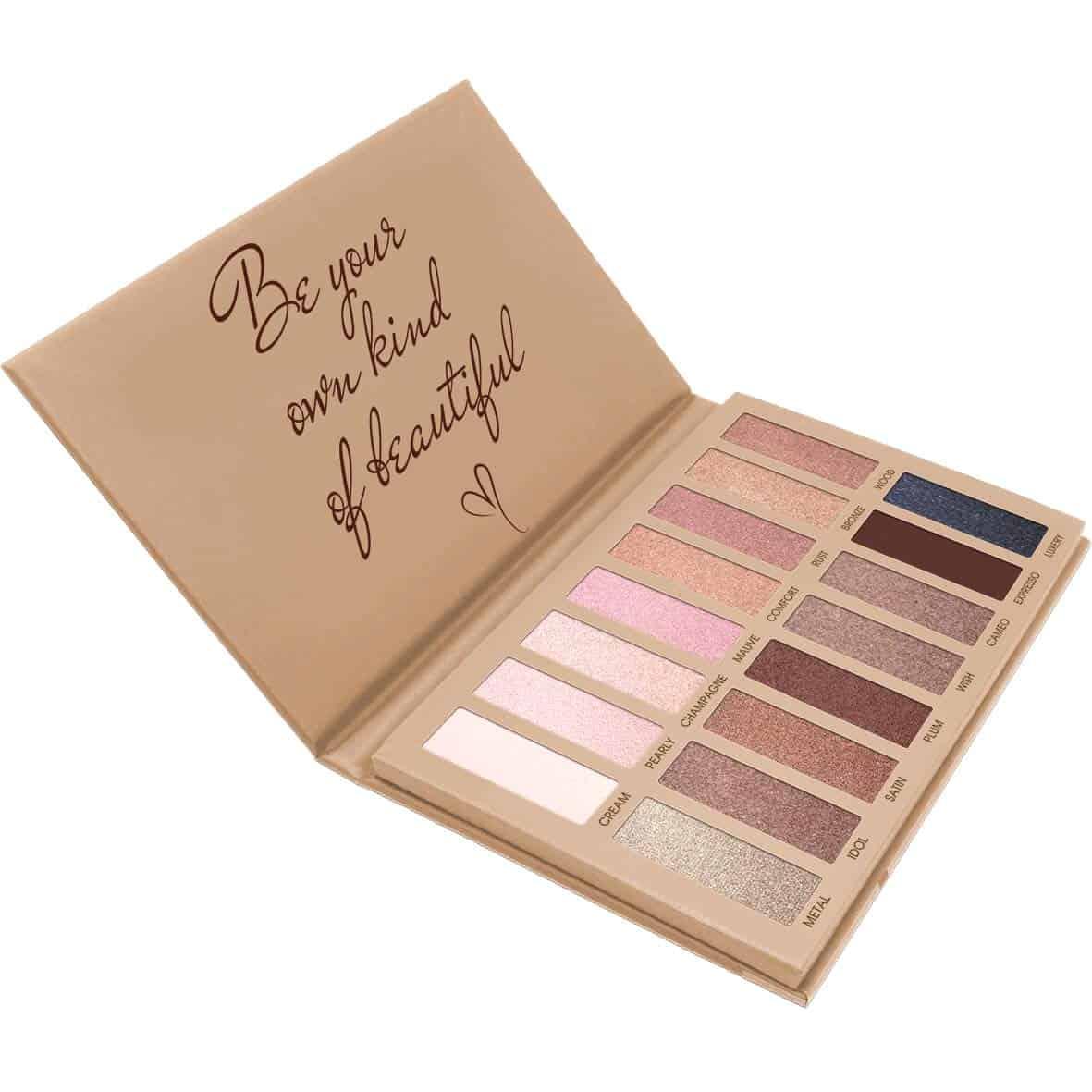 best eyeshadow color for dark brown eyes