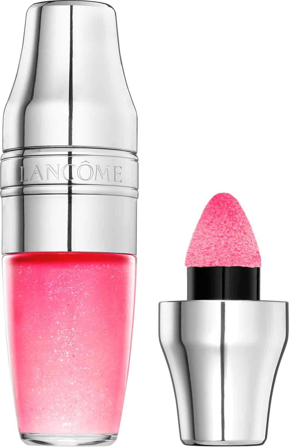 Lancome Juicy Shaker Pigment Infused Bi Phase Lip Oil Freedom Of Peach
