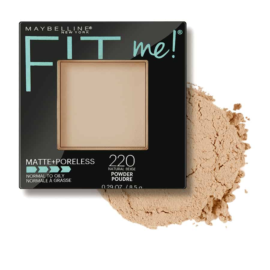 Maybelline Fit Me Matte Poreless Pressed Powder 2