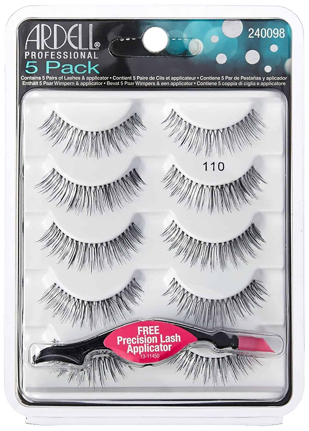 Ardell False Eyelashes Natural 110 Black