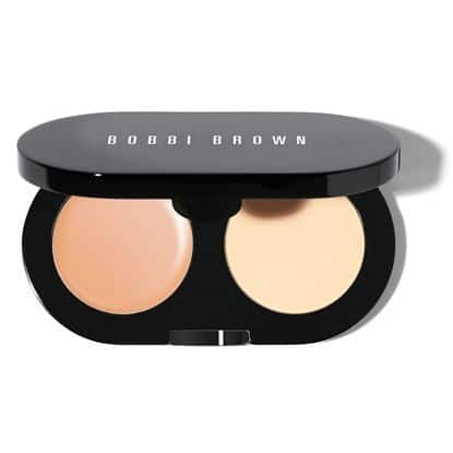 Bobbi Brown New Creamy Concealer Kit Sand Pale Yellow Sheer Finished Pressed Powder 2 1
