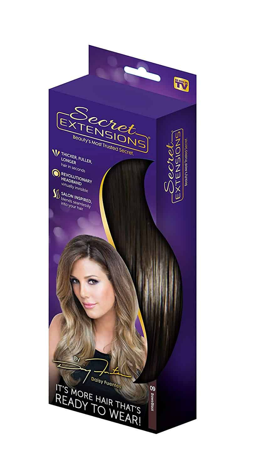 SECRET EXTENSIONS BY DAISY FUENTES ARE NOW AT WALGREENS.