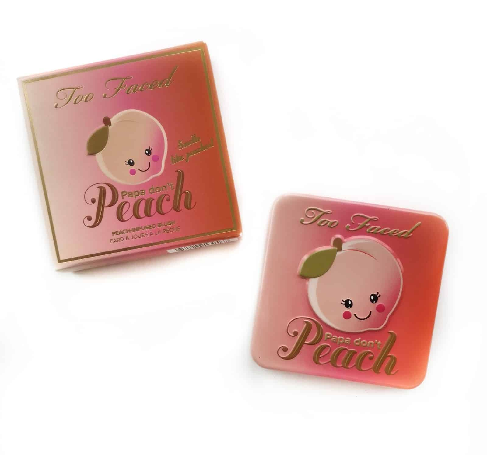 TOO FACED PAPA DON'T PEACH BLUSH REVIEW