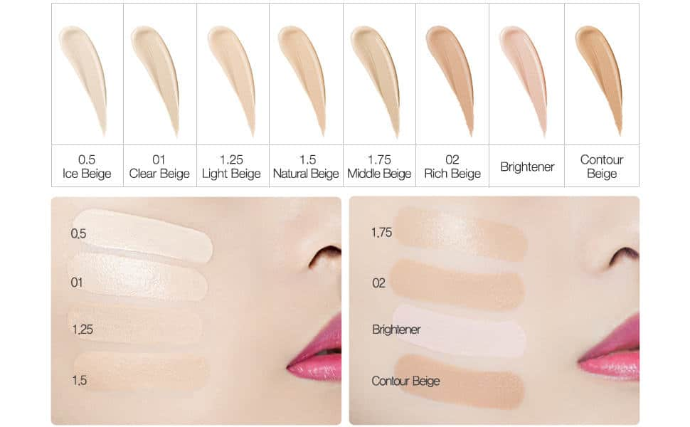 The Saem Cover Perfection Tip Concealer SPF28 PA 23