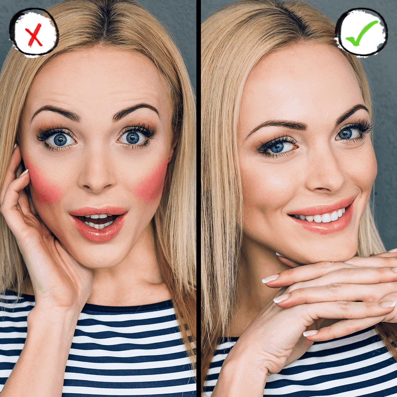 common mistakes you may have when using blusher