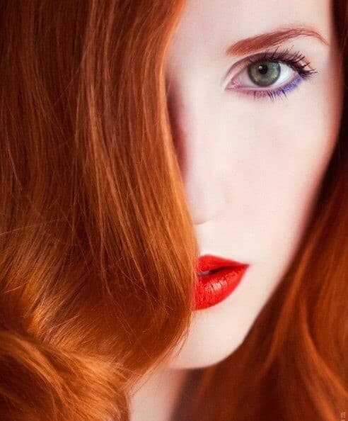 best lipstick colors for redheads