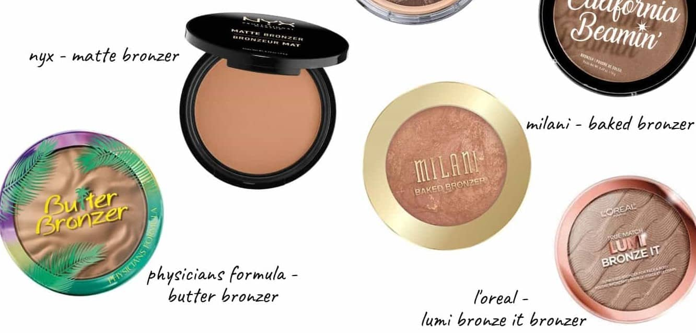 best bronzer for acne-prone skin