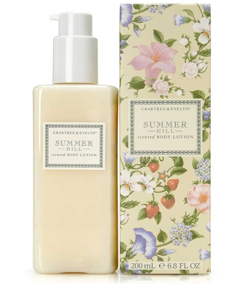 Crabtree Evelyn Scented Body Lotion Summer Hill