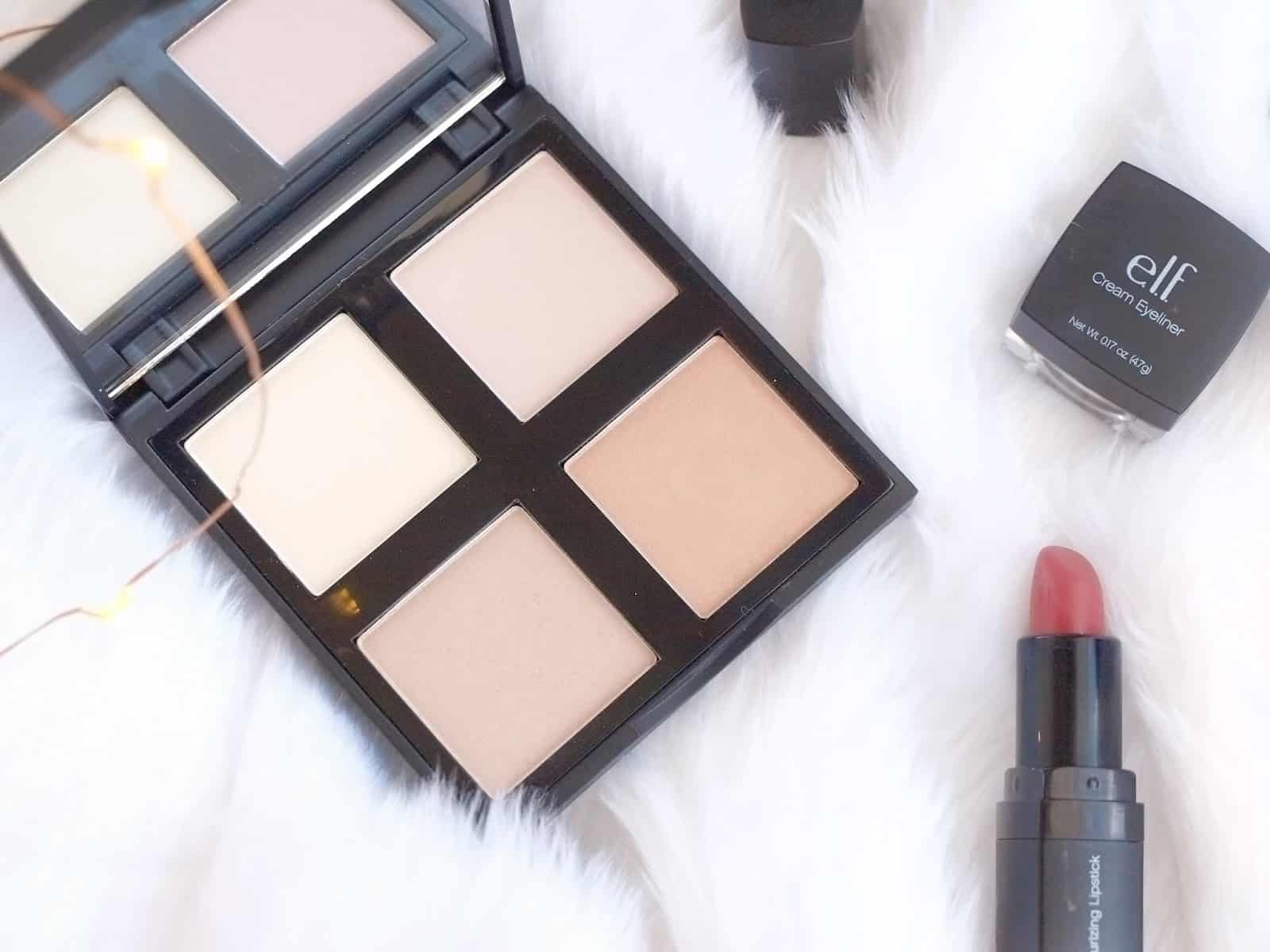 e.l.f. Cosmetics Illuminating Palette Review and Swatches 1