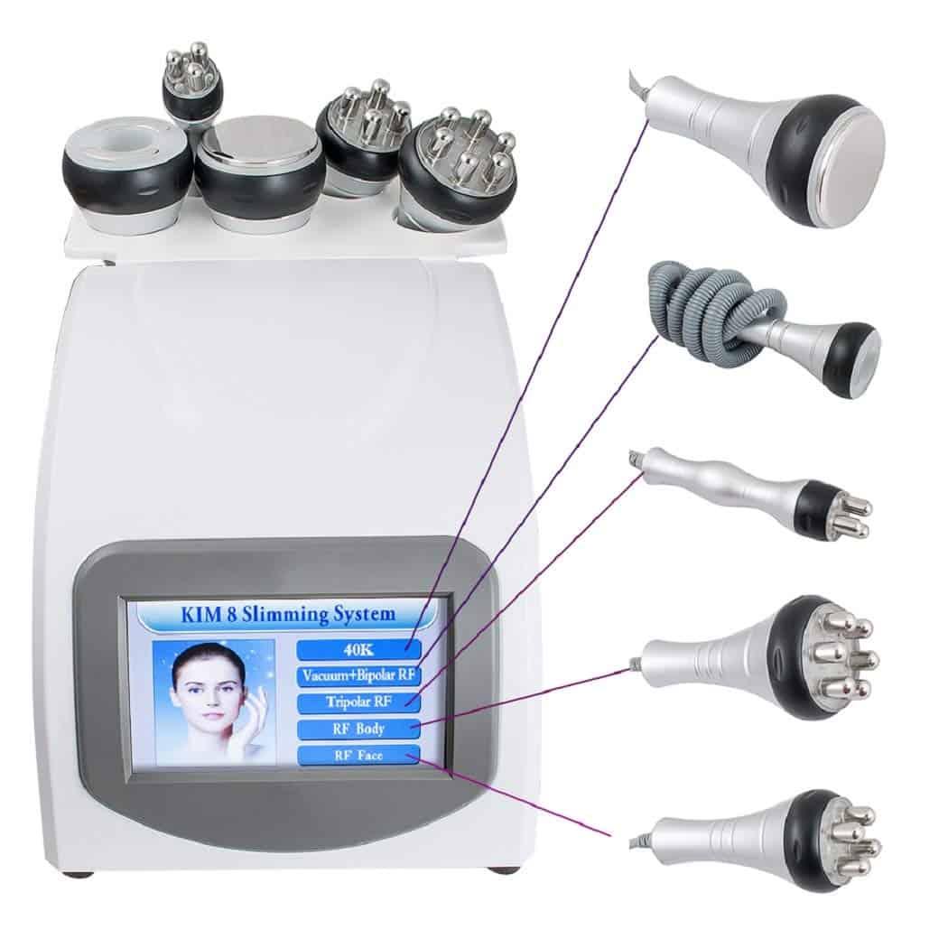 Ixaer 5 In 1 RF Fat Burning Device Skin Care Machine