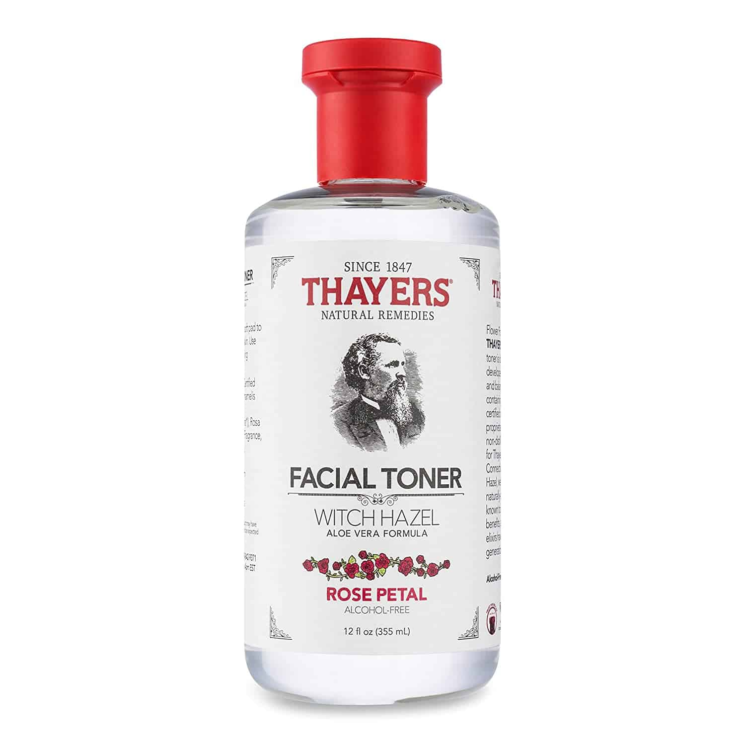 Thayers Alcohol Free Rose Petal Witch Hazel Facial Toner