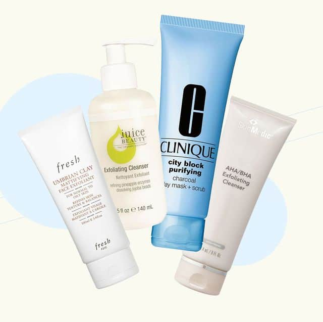 best face exfoliator for mature skin